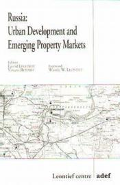 Russia urban development and emerging property markets - Couverture - Format classique