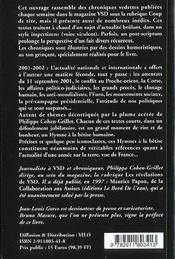Hymnes A La Betise - 4ème de couverture - Format classique