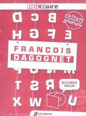 Francois Dagognet (+Cd Video) - Intérieur - Format classique