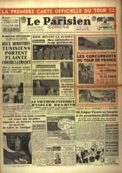 Parisien Libere (Le) N°2282 du 15/01/1952 - Couverture - Format classique