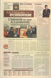 Figaro Economie (Le) N°21018 du 28/02/2012 - Couverture - Format classique