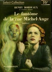Le Fantome De La Rue Michel-Ange. Collection : Select Collection N° 155 - Couverture - Format classique