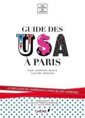 Le guide des USA à Paris - Couverture - Format classique