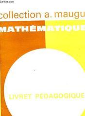 Mathematiques - Classe De 4° - Couverture - Format classique