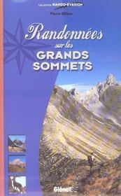 Randonnees Sur Les Grands Sommets - Intérieur - Format classique