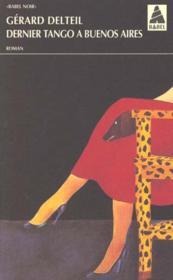 Dernier Tango A Buenos Aires Babel 421 - Couverture - Format classique