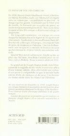 Graines de pavot - 4ème de couverture - Format classique
