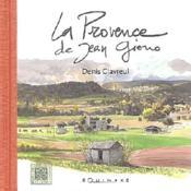 Provence De Jean Giono (La) - Couverture - Format classique