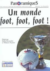 REVUE PANORAMIQUES N.61 ; un monde foot foot foot  - Collectif - Revue Panoramiques