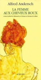 La Femme Aux Cheveux Roux - Couverture - Format classique