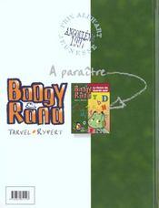 Boogy et Rana t.1 ; l'étang qui rétrecissait - 4ème de couverture - Format classique