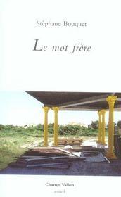 Le Mot Frere - Intérieur - Format classique