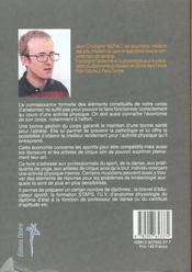 Economie De L'Effort - 4ème de couverture - Format classique