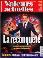 Valeurs Actuelles N°3930 du 28/03/2012 - Couverture - Format classique