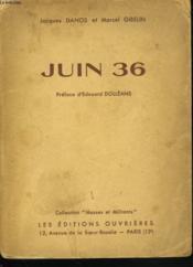 Juin 36. - Couverture - Format classique