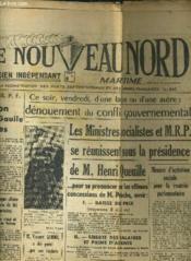 Le Nouveau Nord Maritime N°901 - 5eme Annee - Samedi 1er Octobre 1949. - Couverture - Format classique