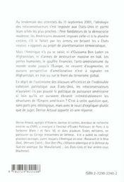 L'Amerique Des Neoconservateurs L'Empire A-T-Il Un Avenir ? - 4ème de couverture - Format classique