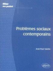 Problèmes sociaux comtemporains - Intérieur - Format classique