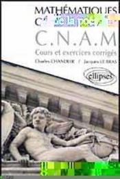 Mathematiques Generales A Cnam Cours Et Exercices Corriges - Intérieur - Format classique
