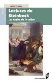 Lectures de Steinbeck ; les raisins de la colère - Intérieur - Format classique