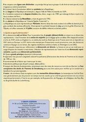 Histoire-géographie, éducation civique ; brevet des collèges - 4ème de couverture - Format classique
