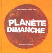 Planete dimanche - Intérieur - Format classique