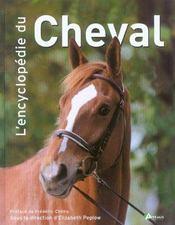 Encyclopedie Du Cheval (L ) - Intérieur - Format classique