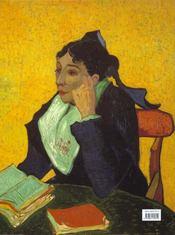 Van Gogh. Les Portraits - 4ème de couverture - Format classique