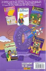 Les Simpson t.5 ; looping - 4ème de couverture - Format classique