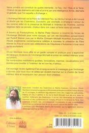 L'évangile de l'archange michaël - 4ème de couverture - Format classique