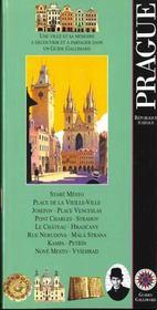 Prague (Place De La Vieille-Ville, Pont Charles, Ile De Kampa - Intérieur - Format classique