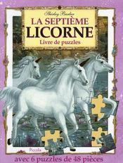 Livre de 6 puzzles 48 pieces/la septieme licorne - Intérieur - Format classique