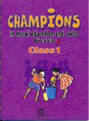 Champions in moral education and civics hiv and aids - Couverture - Format classique