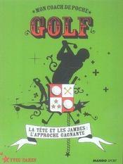 Mon coach de poche ; golf - Intérieur - Format classique