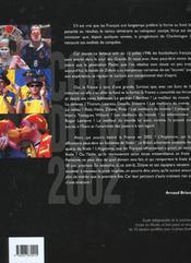 Presentation de la coupe du monde 2002 - 4ème de couverture - Format classique