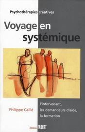 Voyage en systèmique - Intérieur - Format classique