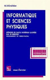 Informatique et sciences physiques - Couverture - Format classique