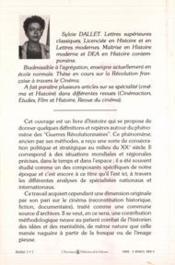 Guerres Revolutionnaires Histoire Et Cinema - 4ème de couverture - Format classique