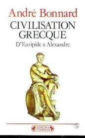 Civilisation grecque t.3 ; n.83h - Couverture - Format classique