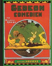 Gédéon comédien - Couverture - Format classique