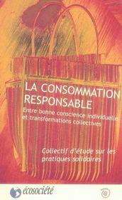 La consommation responsable - Intérieur - Format classique