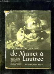 De Manet A Lautrec. - Couverture - Format classique