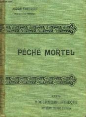 Peche Mortel. - Couverture - Format classique