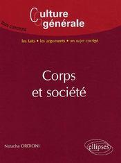 Corps et société - Intérieur - Format classique