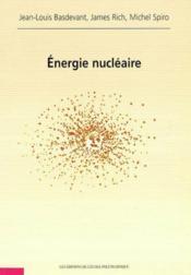 Energie Nucleaire - Couverture - Format classique