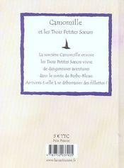 Camomille Et Les Trois Petites Soeurs Chez Barbe-Bleue - 4ème de couverture - Format classique