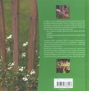 Du mur à la haie... comment clore son jardin - 4ème de couverture - Format classique