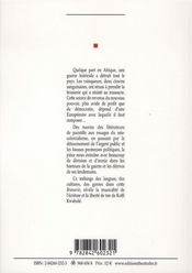 Brasserie - 4ème de couverture - Format classique