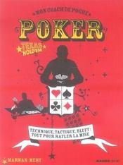 Mon coach de poche ; poker - Intérieur - Format classique