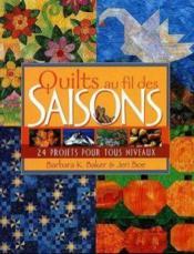 Quilts au fil des saisons - Couverture - Format classique